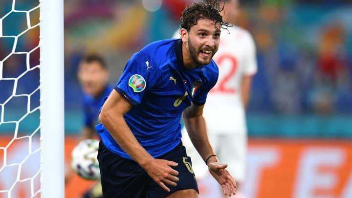 Excellent depuis le début de l'Euro avec l'Italie, Manuel Locatelli est l'un des joueurs les plus convoités du moment