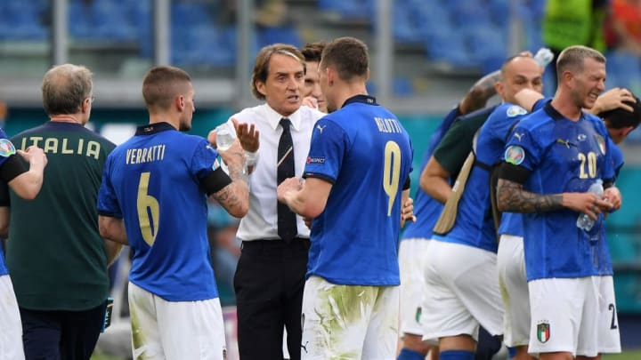 Roberto Mancini, Marco Verratti, Andrea Belotti
