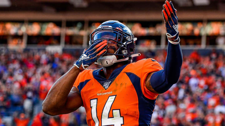 Courtland Sutton Fantasy Breakout Quietly Taking Place Early in ...