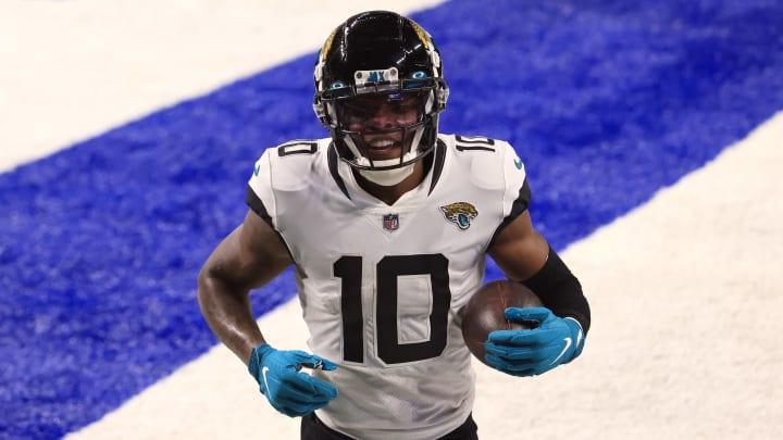 Jacksonville Jaguars wide receiver Laviska Shenault is receiving huge praise from the coaching staff.