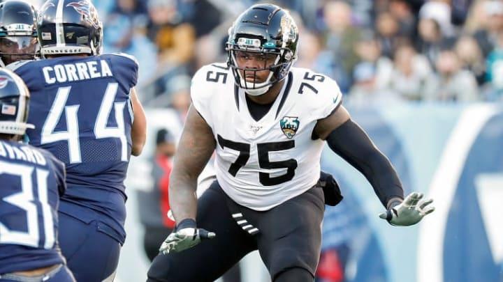 Jacksonville Jaguars right tackle Jawaan Taylor