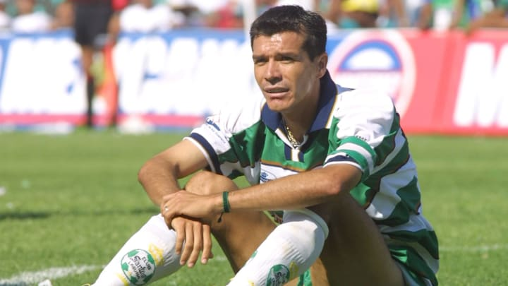Jared Borgetti, histórico futbolista de Santos Laguna