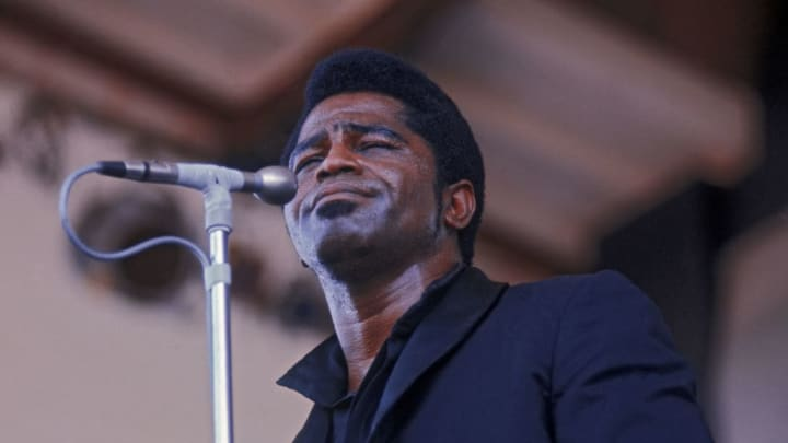 James Brown At Newport