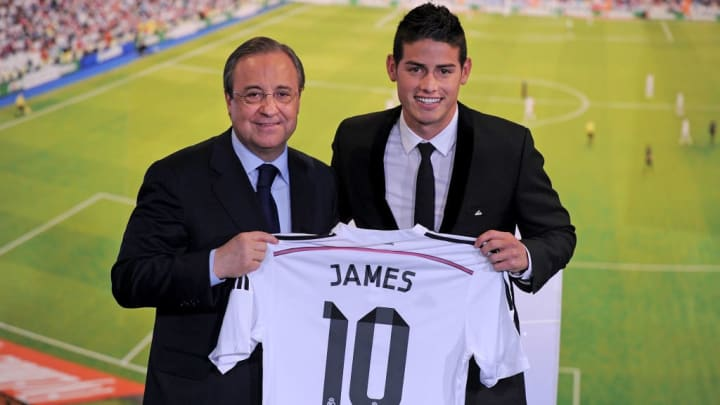 James Rodriguez, Florentino Perez