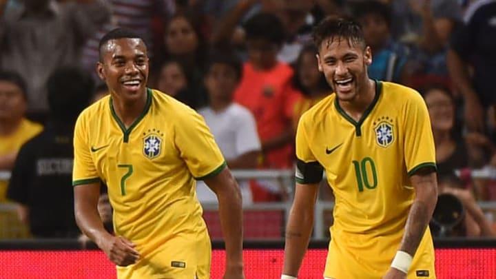 Neymar, Robinho