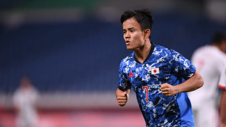 Takefusa Kubo has starred for Japan at the Olympics so far
