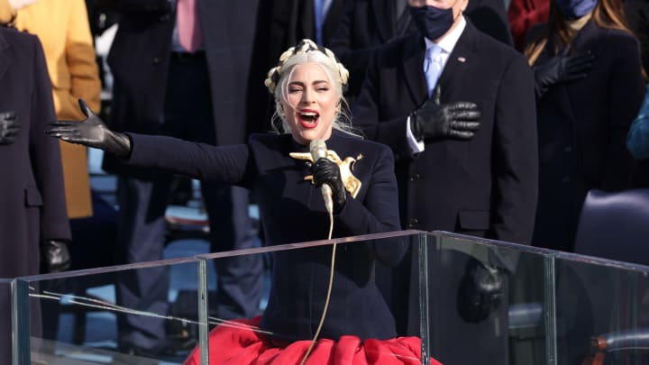 Lady Gaga, Joe Biden Sworn In As 46th President Of The United States At U.S. Capitol Inauguration Ceremony