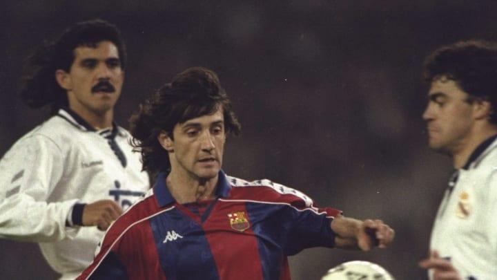 Jose Maria Bakero of Barcelona