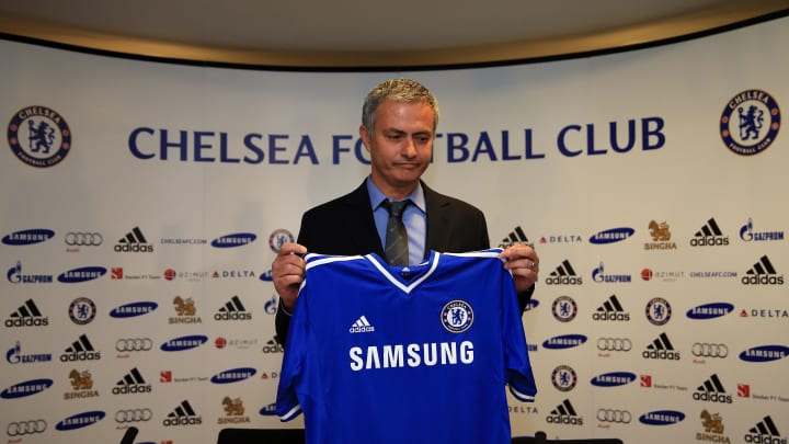 Jose Mourinho takes Chelsea job for a second time.