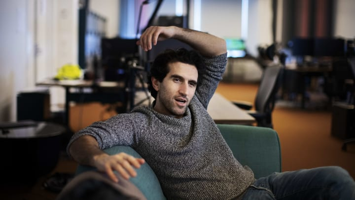 Josef Fares, founder of Hazelight and famous curse word user.