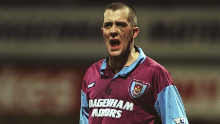 Julian Dicks of West Ham United