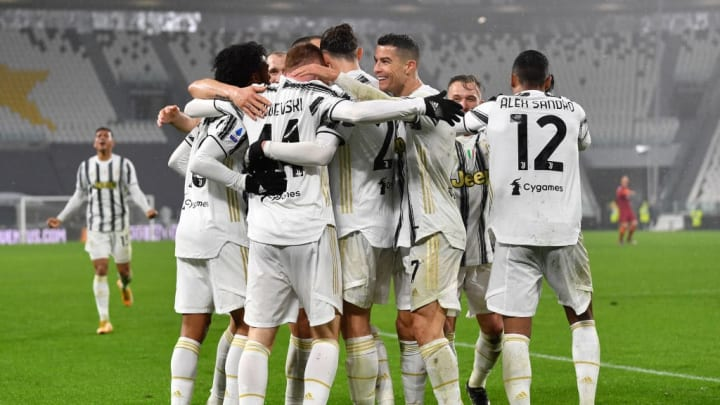 Juan Cuadrado, Dejan Kulusevski, Alex Sandro, Cristiano Ronaldo