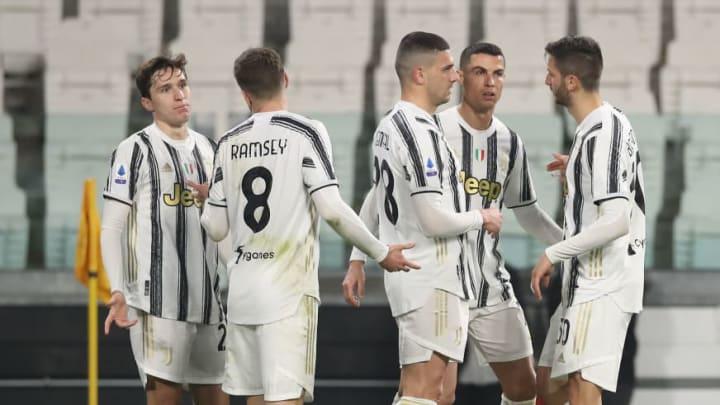 Cristiano Ronaldo, Aaron Ramsey, Federico Chiesa, Merih Demiral, Rodrigo Bentancur