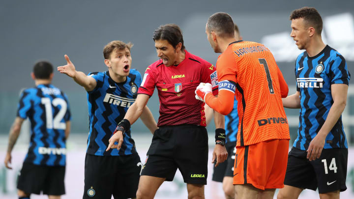 Polemiche in Juve-Inter