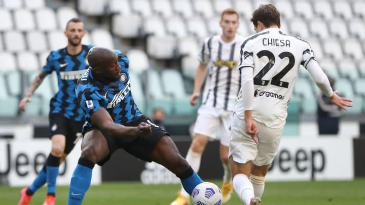 Romelu Lukaku, Federico Chiesa Juventus Inter de Milão Série A