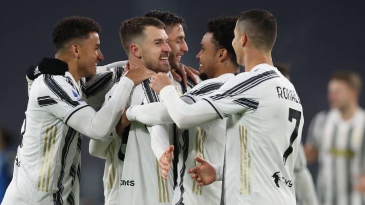 Aaron Ramsey, Cristiano Ronaldo, Rodrigo Bentancur, Danilo, Weston McKennie