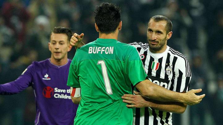 Gianluigi Buffon, Giorgio Chiellini