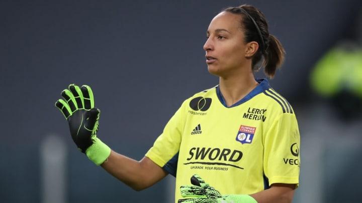 Sarah Bouhaddi Lyon PSG Champions League