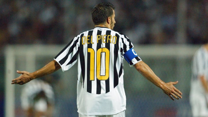 Juventus forward and captain Alessandro