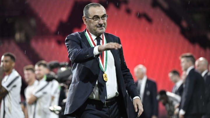 Former Juventus and Napoli boss Maurizio Sarri is said to on AC Milan's radar
