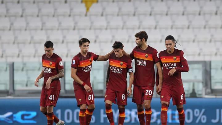 Diego Perotti, Chris Smalling, Federico Fazio, Roger Ibanez, Riccardo Calafiori