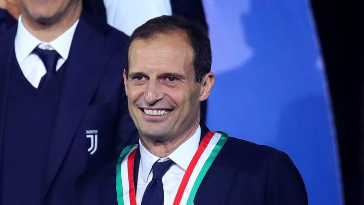 Massimiliano Allegri will once more take charge of Juventus