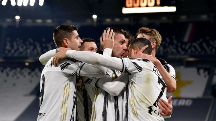 Adrien Rabiot, Alvaro Morata, Cristiano Ronaldo, Matthijs De Ligt