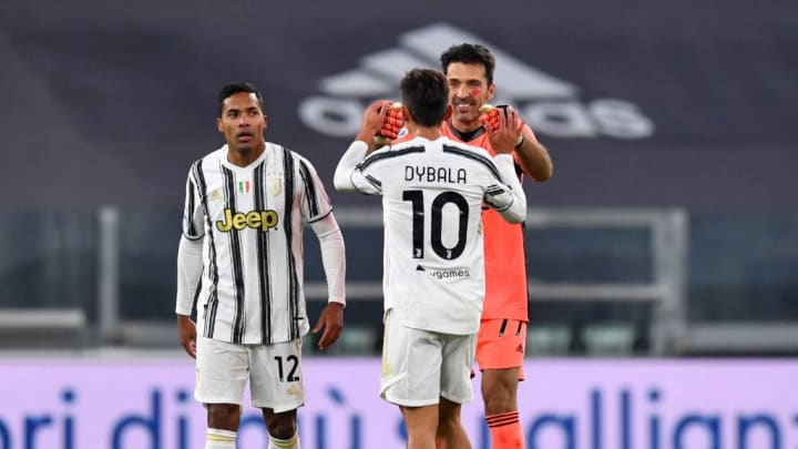 Paulo Dybala, Gianluigi Buffon, Alex Sandro