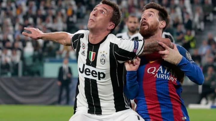 Mario Mandzukic, Lionel Messi