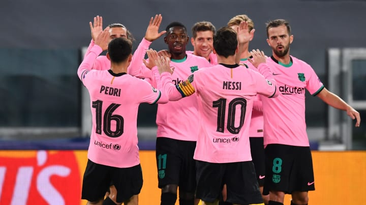 Juventus 0 2 Barcelona Player Ratings As La Blaugrana Earn Deserved Win Over Ten Man Bianconeri