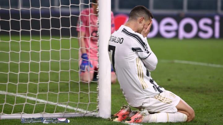 Atacante português não conseguiu atuar bem nas partidas de ida e volta da Champions League.