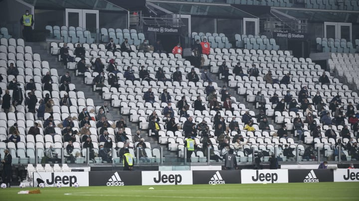 Italy had started letting fans back into Serie A games
