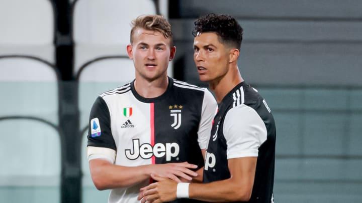 Cristiano Ronaldo, Matthijs De Ligt