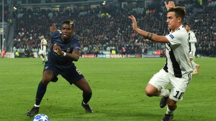 Paul Pogba will zurück zu Juventus Turin. Tauschen er und Paulo Dybala die Trikots? (v.l.)