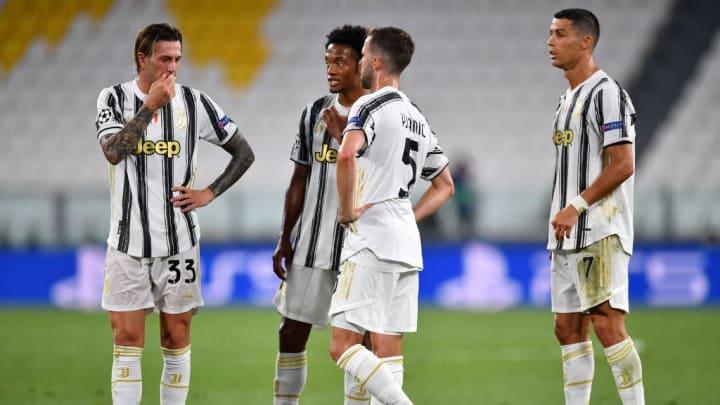 Federico Bernardeschi, Miralem Pjanic, Cristiano Ronaldo, Juan Cuadrado