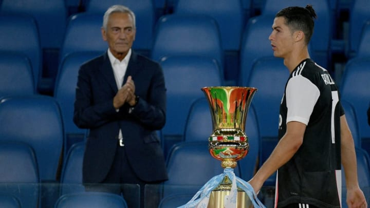 Ronaldo failed to fire in the Coppa Italia final defeat to Napoli