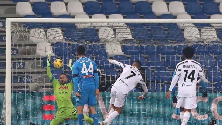 Ronaldo scored on the night