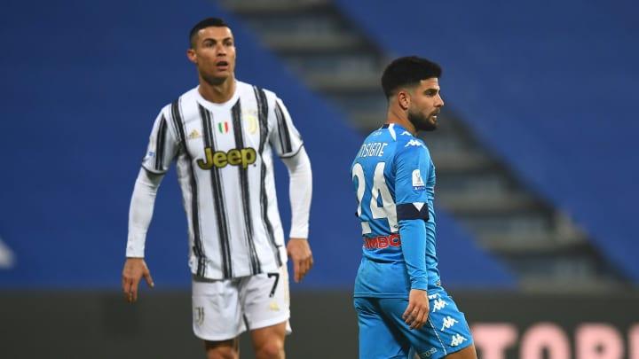 Cristiano Ronaldo e Lorenzo Insigne