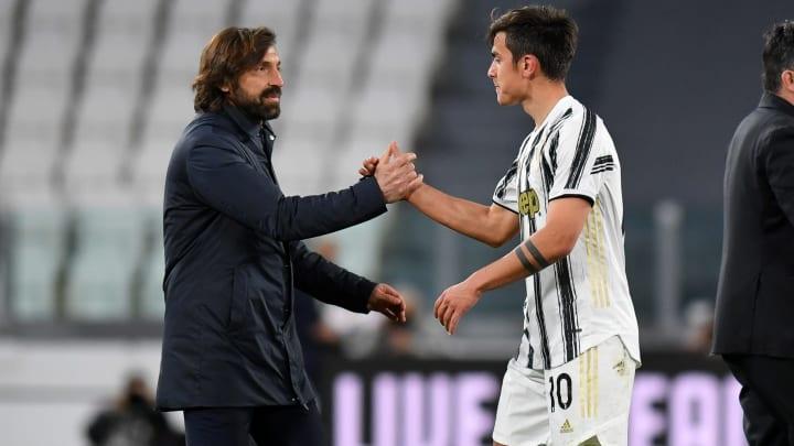 Andrea Pirlo wants Paulo Dybala to stay