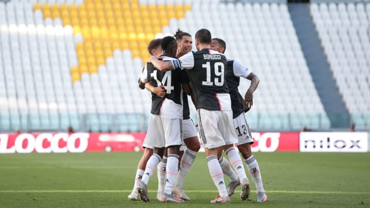 Cristiano Ronaldo, Blaise Matuidi, Paulo Dybala, Danilo, Leonardo Bonucci