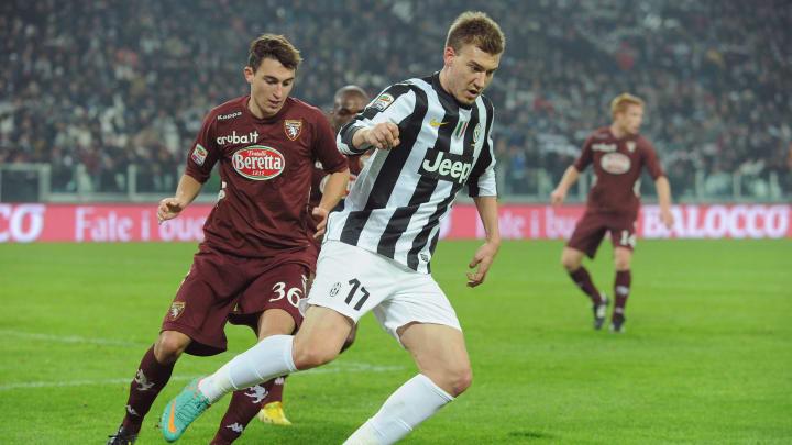 El delantero noruego jugó en la Juventus en la temporada 12/13