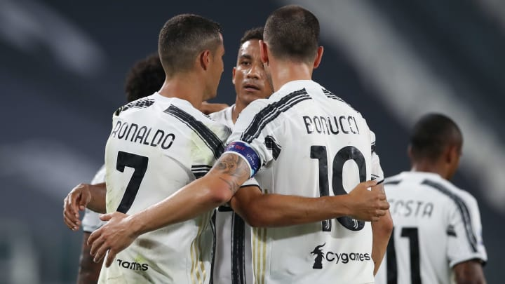 Cristiano Ronaldo, Leonardo Bonucci, Danilo