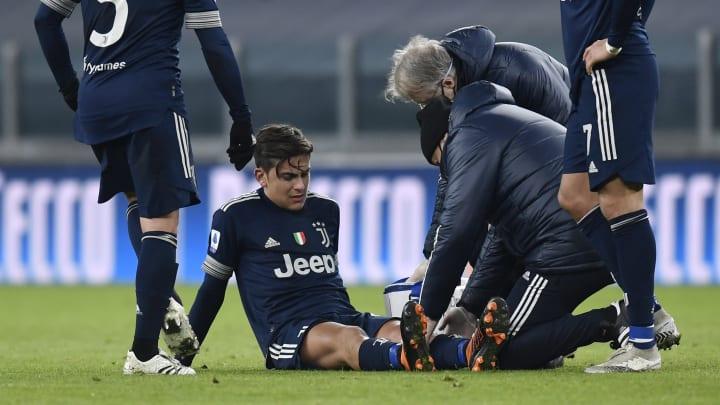 Paulo Dybala hat sich gegen Sassuolo verletzt