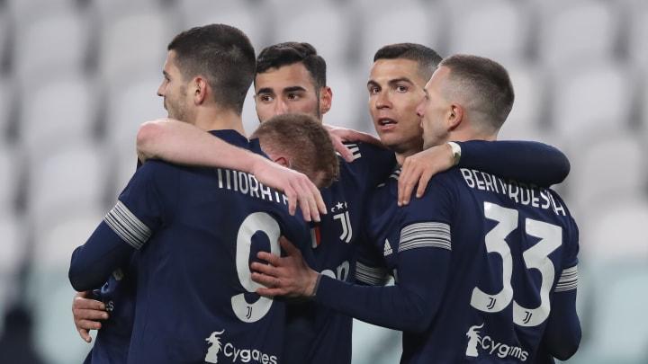 Cristiano Ronaldo, Alvaro Morata, Federico Bernardeschi, Gianluca Frabotta, Dejan Kulusevski