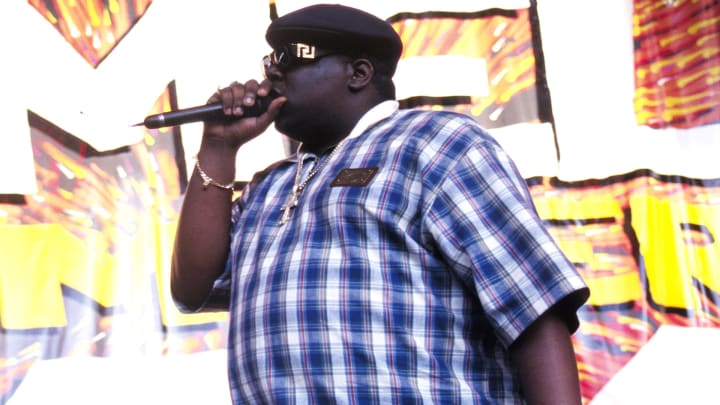 Notorious B.I.G. in 1995