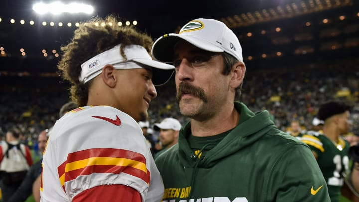 Patrick Mahomes and Aaron Rodgers lead the way in the odds to win NFL MVP for the 2021 season.