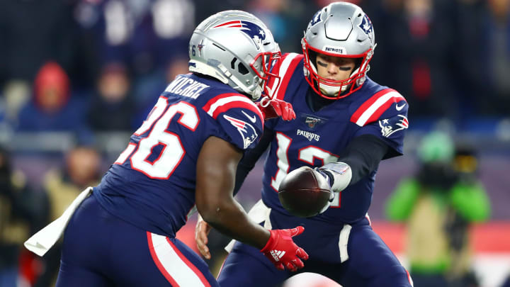 Tom Brady, Sony Michel