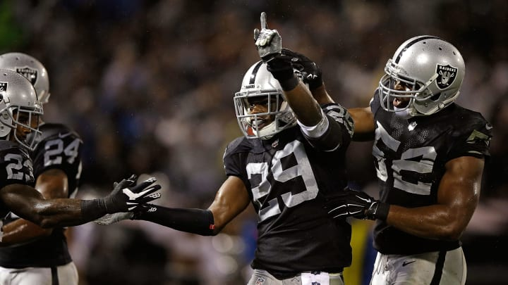 Tarell Brown, Brandian Ross, Khalil Mack