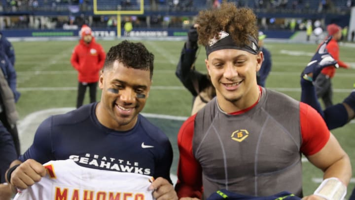 Russell Wilson, Patrick Mahomes