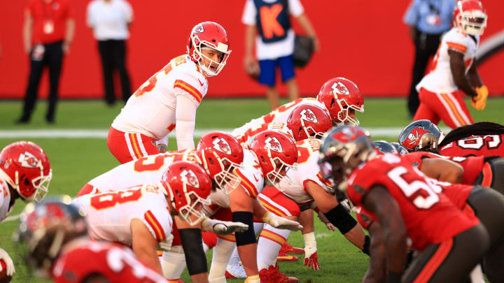 Patrick Mahomes, Kansas City Chiefs v Tampa Bay Buccaneers